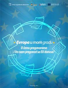 Evropa u mom gradu – pregovori
