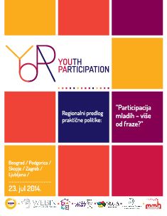 Regionalni predlog praktične politike: Participacija mladih - više od fraze