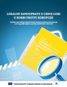 Izvještaj o sprovođenju lokalnih akcionih planova za borbu protiv korupcije