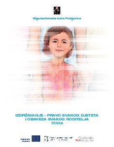 Izdržavanje - pravo svakog djeteta i obaveza svakog roditelja