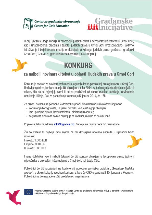 KONKURS - najbolji novinarski tekst u oblasti  ljudskih prava u CG-01 (1)
