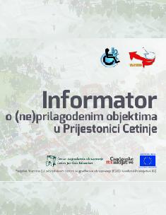 Informator o (ne)prilagođenim objektima u Prijestonici Cetinje