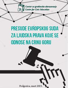 Presude Evropskog suda za ljudska prava koje se odnose na Crnu Goru