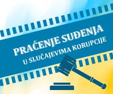 Praćenje suđenja u slučajevima korupcije