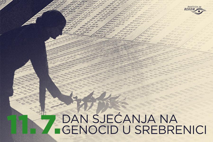 Dan sjećanja na genocid u Srebrenici
