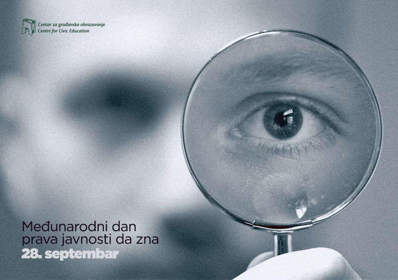 CGO - Međunarodni dan prava javnosti da zna