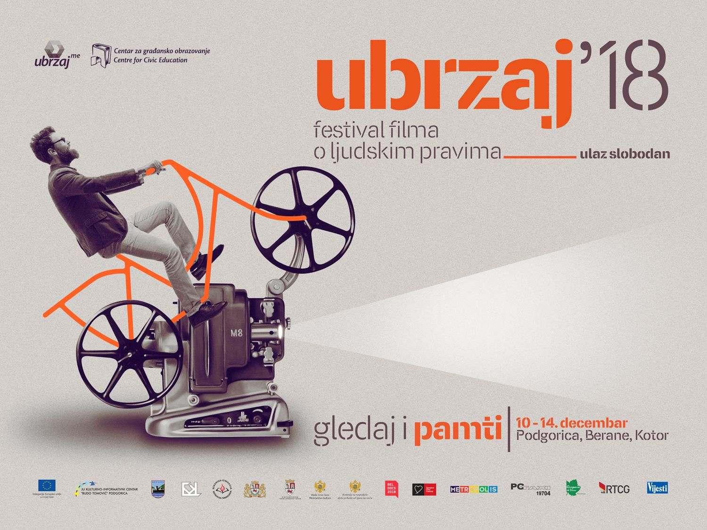 Festival filma o ljudskim pravima UBRZAJ 2018