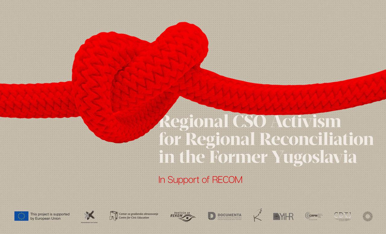 RECOM CSO Activism for reconciliation