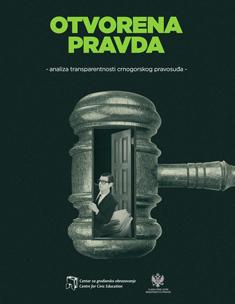 Otvorena pravda – analiza transparentnosti crnogorskog pravosuđa
