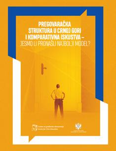 Pregovaračka struktura u Crnoj Gori i komparativna iskustva