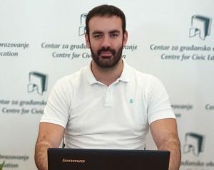 Vasilije Radulović, asistent na programima
