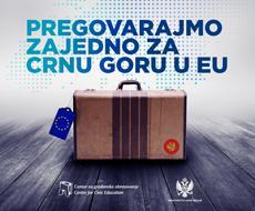 Pregovarajmo za Crnu Goru u EU
