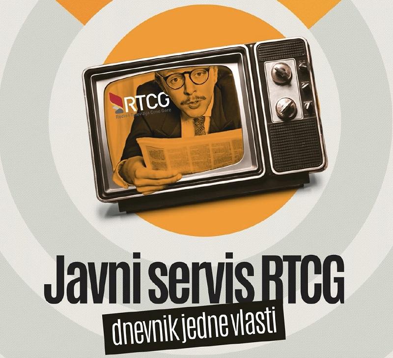 Javni servis RTCG - dnevnik jedne vlasti