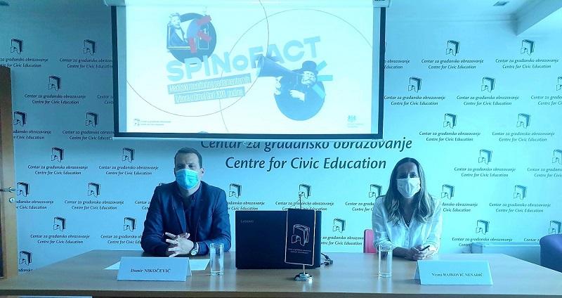 SPINoFACT - monitoring parlamentarnih izbora u Crnoj Gori 2020. godine