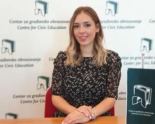 Ana Puljiz, stažistkinja na programu Demokratizacija i evropeizacija