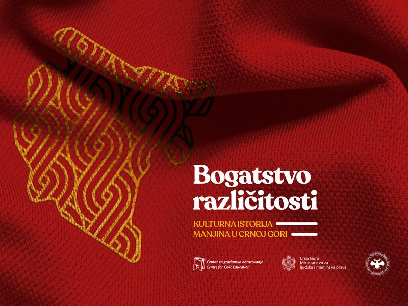 Bogatstvo različitosti kulturna istorija manjina u Crnoj Gori