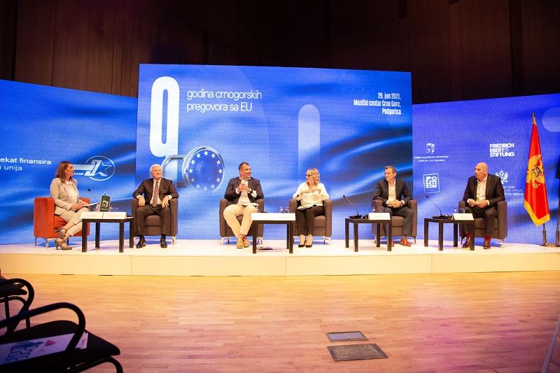 Političke strukture da obezbijede konsenzus za brže članstvo u EU i uključenje svih kapacitete u državi